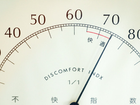 Becoming Comfortable with Uninvited Discomfort...