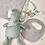 Thumbnail: Geschenkset (Plüschtier + Decke + Latz/Minitoy)