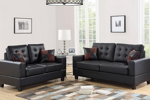 HH7855 2pc: Sofa and Loveseat Set