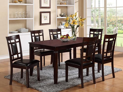 Paige 7 Piece Table and Chair Set