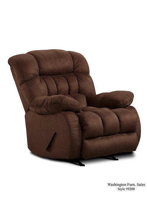 9200 Plush Rocker Recliner