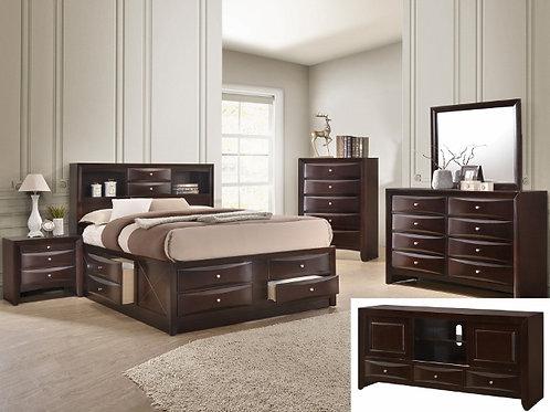 Emily Storage Bedroom Suite