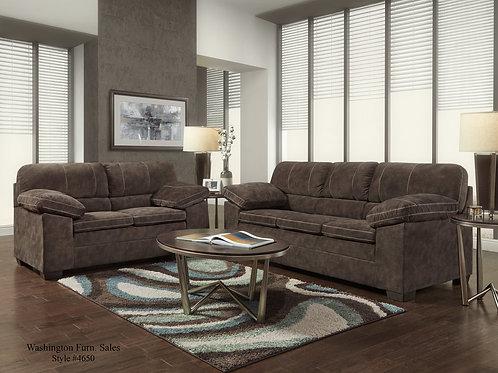 4650 Sofa and Loveseat