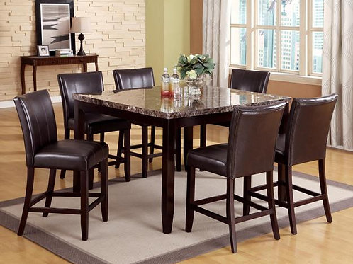 Ferrara 7-PC Counter Height Dining Table Set