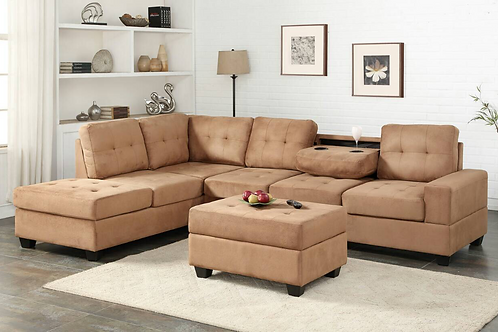 HEIGHTS SECTIONAL + OTTOMAN SET