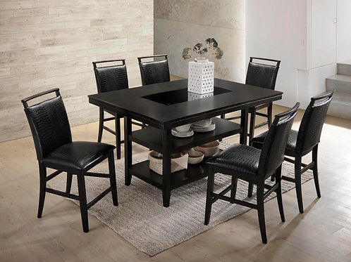 Tommy Dark Espresso Counter Height Dining Set