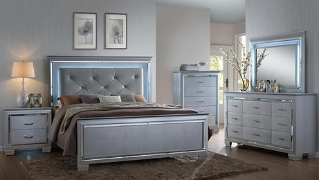 Lillian LED Bedroom Suite