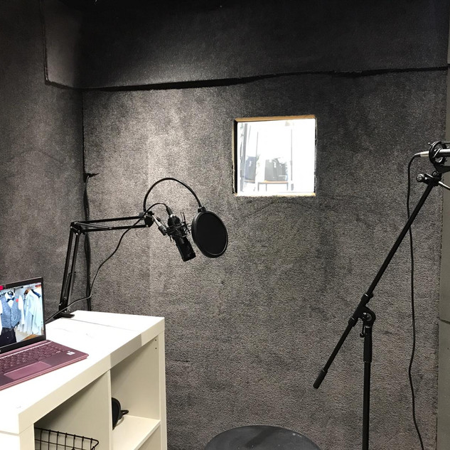 Recording Booth 1