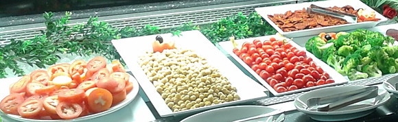 OPEN SALAD BAR AND SIDES