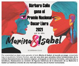 Premio Nacional de Dramaturgia 2021