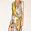 Thumbnail: Gold wrap dress