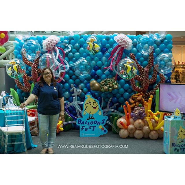 Esperando vocês em nosso Stand  na @expokidsbrasil 🎈🎈🎈 www.balloonsfest