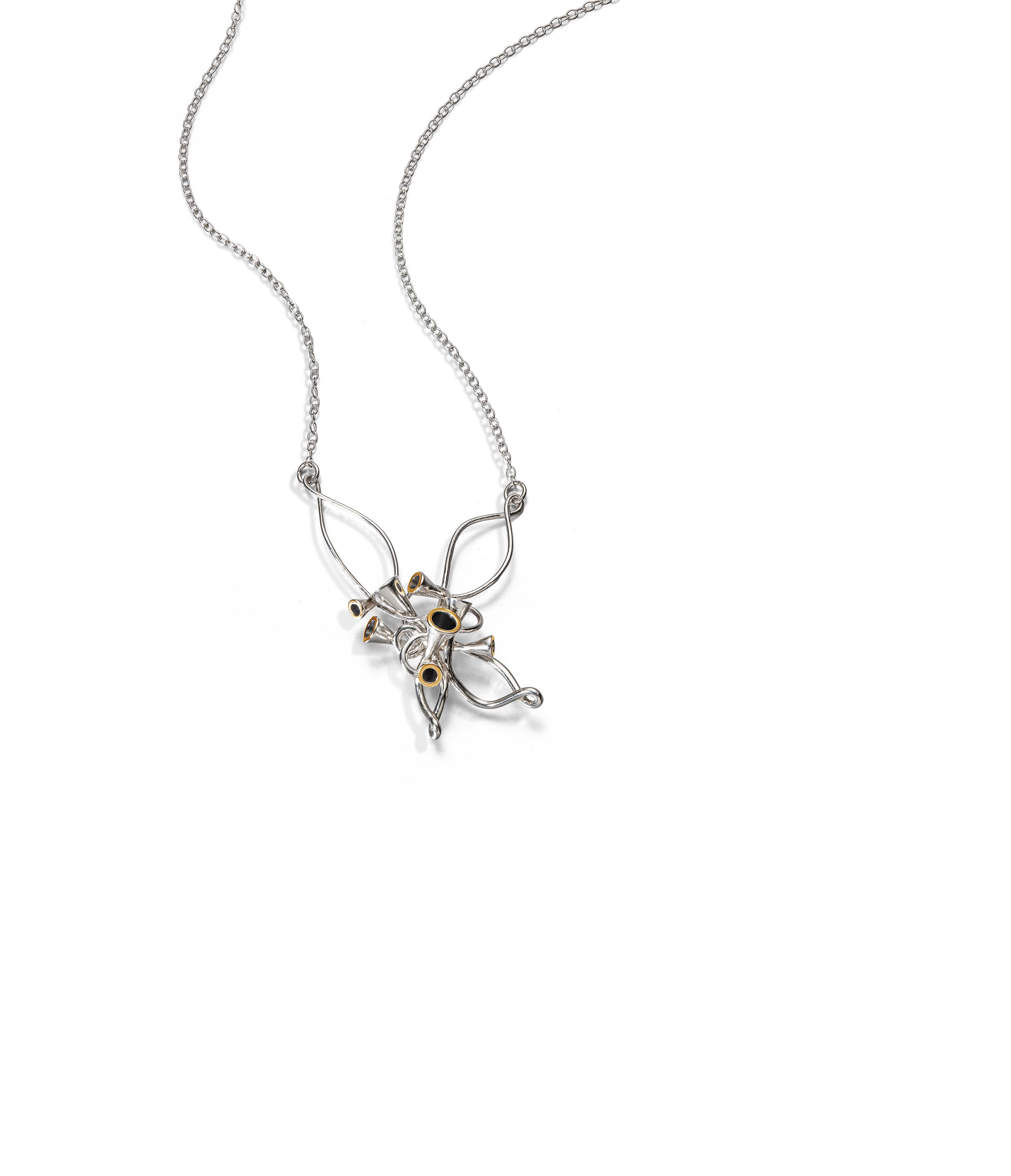 Silver Scale Array pendant