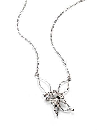 Scale Array silver pendant