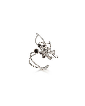 Large Scale Array silver ring