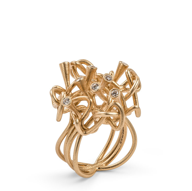 laura bangert, contemporary gold and silver jewellery,sls,3d printing jeweller
