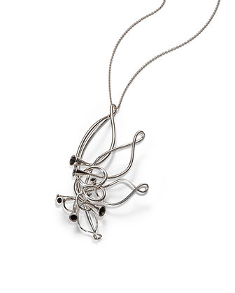 Scale Array Sterling Silver pendant/brooch