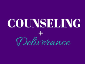 Counseling and Deliverance