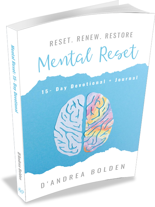 Mental Reset: 15-Day Devotional + Journal