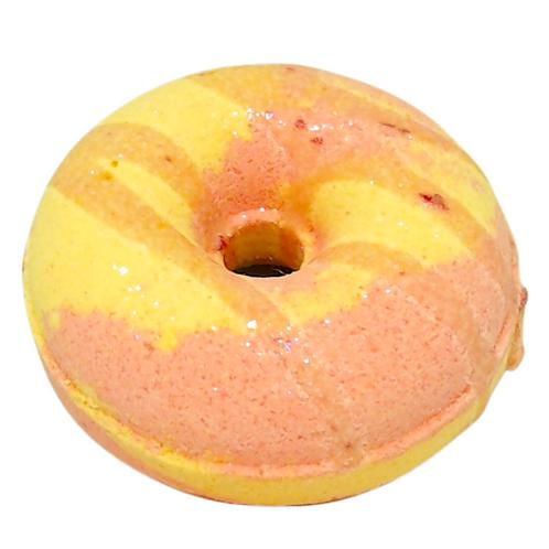 Doughnut Bath bomb- Pink Lemonade