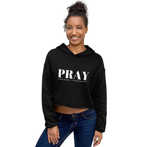 Pray Crop Hoodie