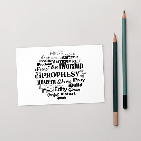 iProphesy - Standard Postcard