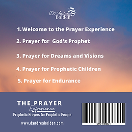 The Prayer Experience (Back)