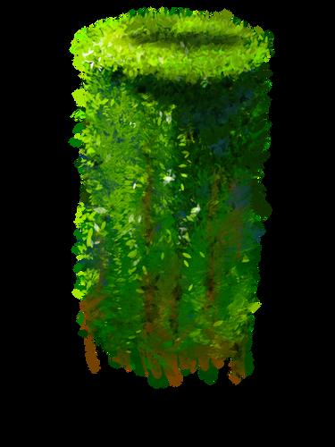 Pillar with Ivy