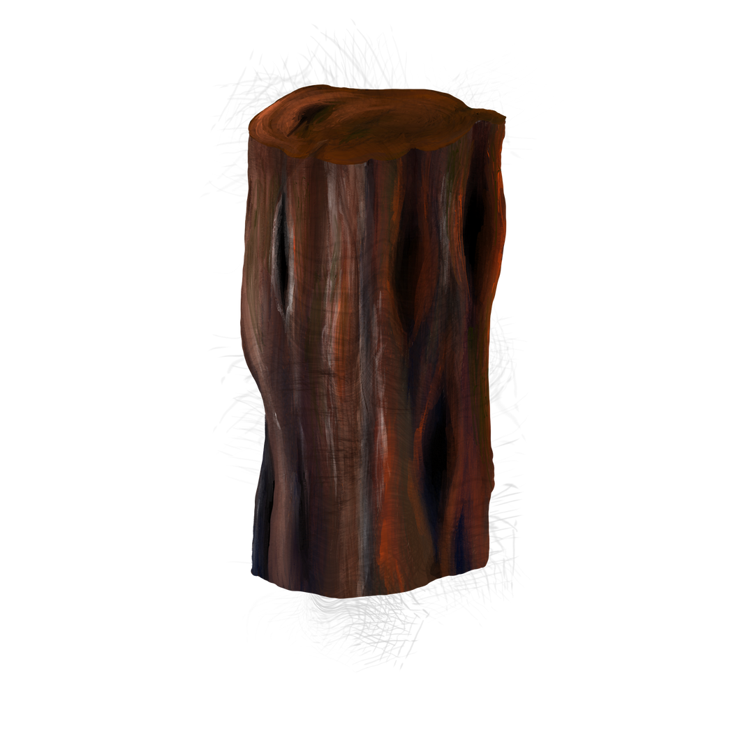 Burnt Pillar Wood