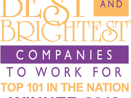 National 101 Best & Brightest Co. 2018