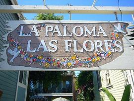 La Paloma Las Flores Entrance Sign