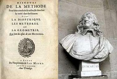 El Discurso del método (1636), de R. Descartes, describe el razonamiento deductivo y sienta las bases del racionalismo