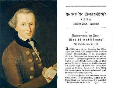"""""""¡Atrévete a saber!"""" sintetiza la obra ¿Qué es Ilustración? (1784), de Kant"""