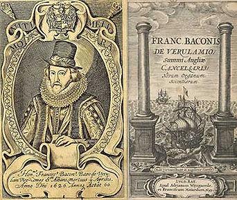 Novum Organum Scientiarum (1620), de Francis Bacon, describe el razonamiento inductivo y sienta las bases del empirismo