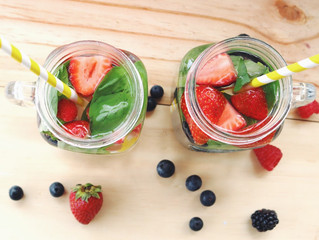 Berry Infused Water