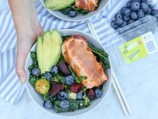 Blueberry Salmon