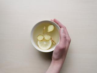 Lemon natural remedy concoction