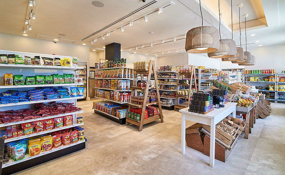 Canouan Coreas Supermarket
