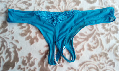 #2 Crotchless beads $60 + your option