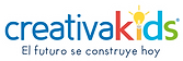 Logo creativakids con slogan_conblanco.p
