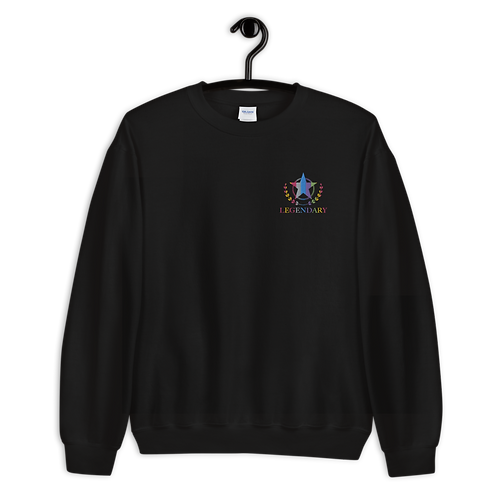 Embroidered #Colors Sweatshirt