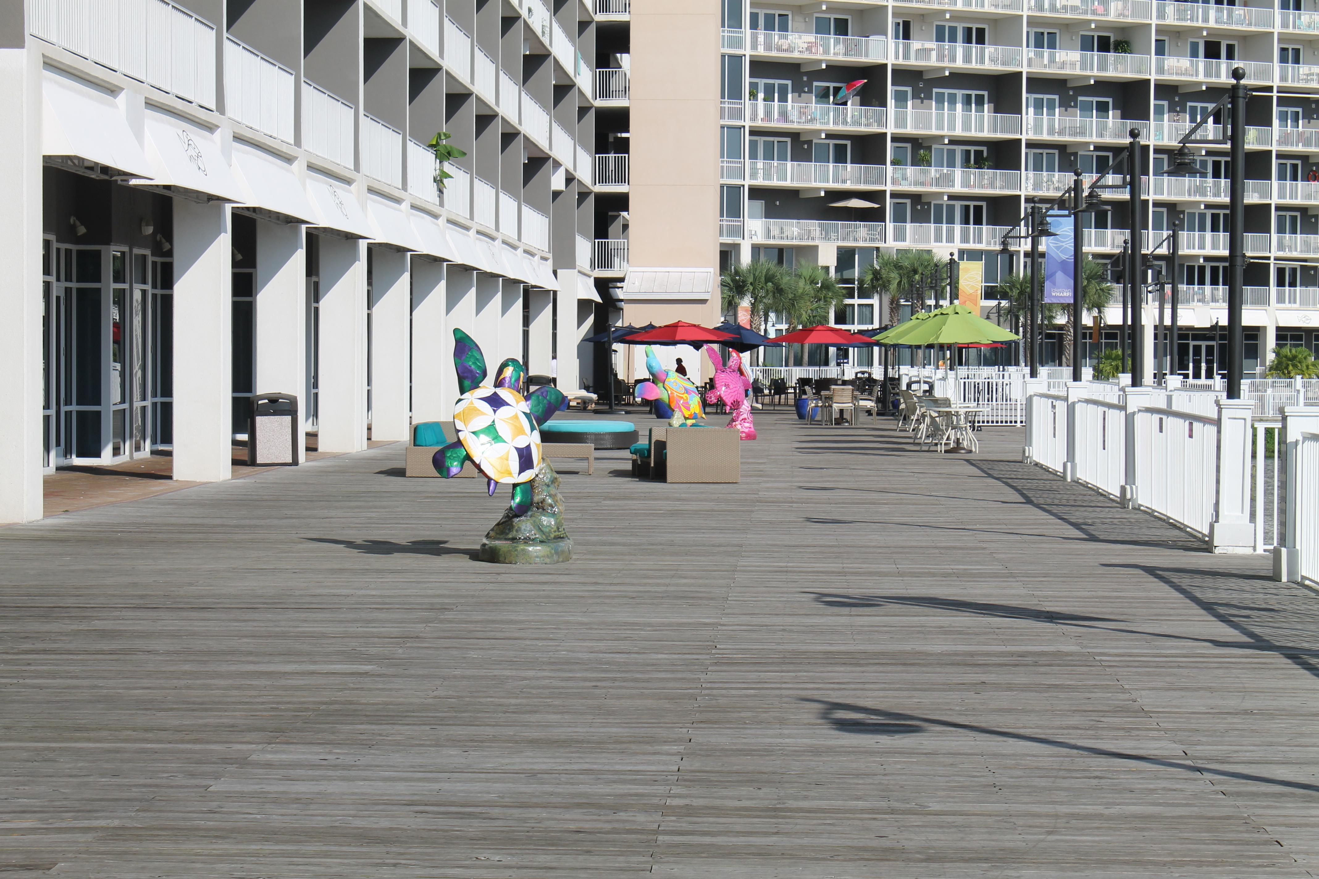 Boardwalk near Wharf Restaurant