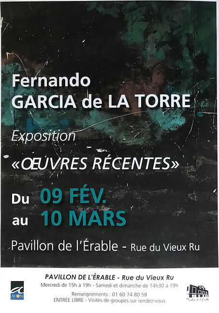 Affiche exposition Avon 2019
