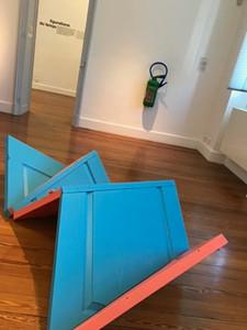 Vantina Canseco - Paysage recyclé 4 série portes