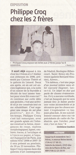 Octobre 2008 Philippe Croq