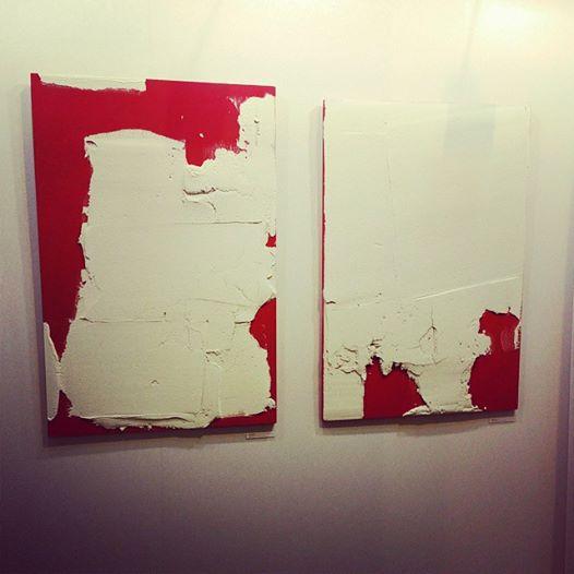 P FAVA Trash wall  rouge blan