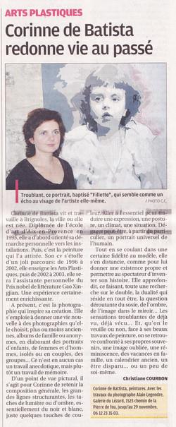 2011 novembre Corinne de Battista