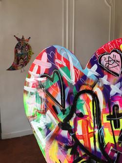 P FAVA Punky heart custom