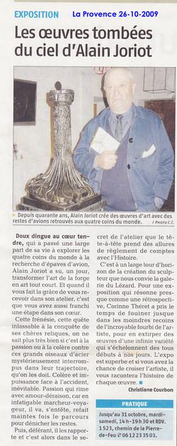 2009 octobre Joriot sculptures