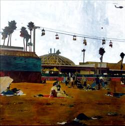 Ayline Olukman beach 100x100